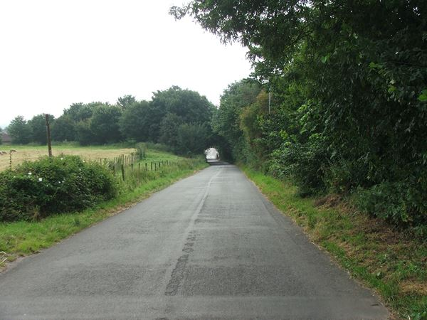 Image, UK, England, Notts, the road between Pleasley Vale and Mansfield Woodhouse