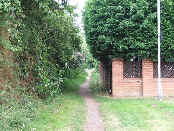 Image, UK, England, Notts, Robin Hood Way between Sherwood Pine Forest and Lidget