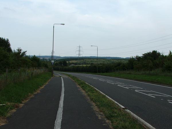 Image, UK, England, Derbyshire, the road between Woodland Farm and Hodhill Farm