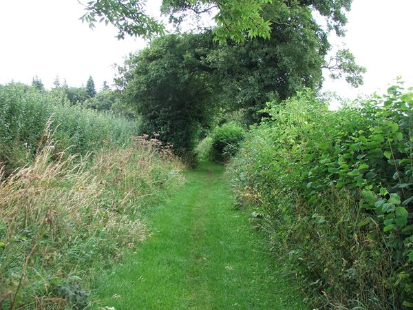 Image, UK, England, Derbyshire, Archaeological Way South approach to the Scarcliffe Park