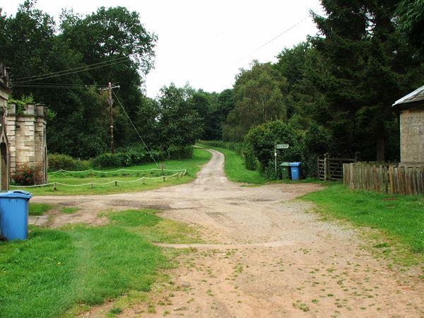 Image, UK, England, Notts, Robin Hood Way, Welbeck Abbey, South Lodge
