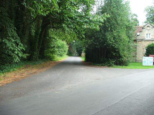 Image, UK, England, Notts, Robin Hood Way between Ollerton Road and Truman's Lodge (Clumber Park)