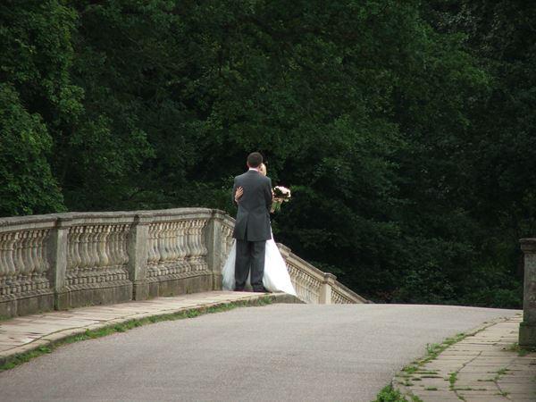 Image, UK, England, Notts, Clumber Park, Clumber Bridge