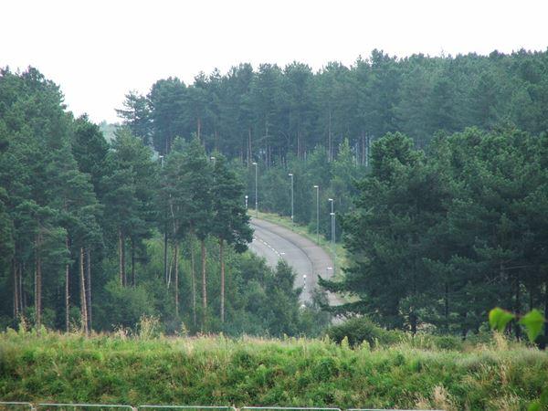 Image, UK, England, Notts, public foot path on Clipstone Drive to Cavendish Lodge