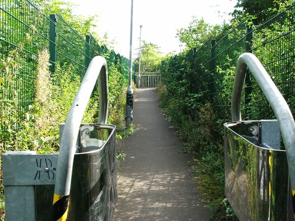 Image, UK, England, Bassetlaw, public foot path from Manton to Worksop Golf Club