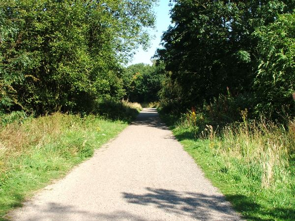 Image, UK, England, Notts, Teversal Trail (Pleasley Trails Network)
